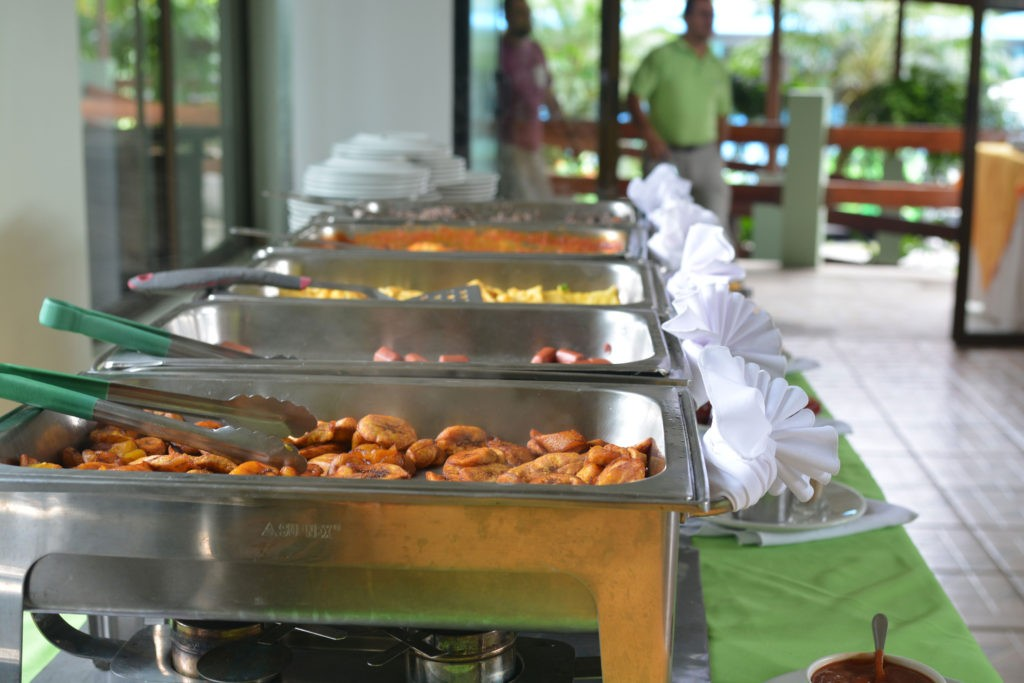 buffet du lodge