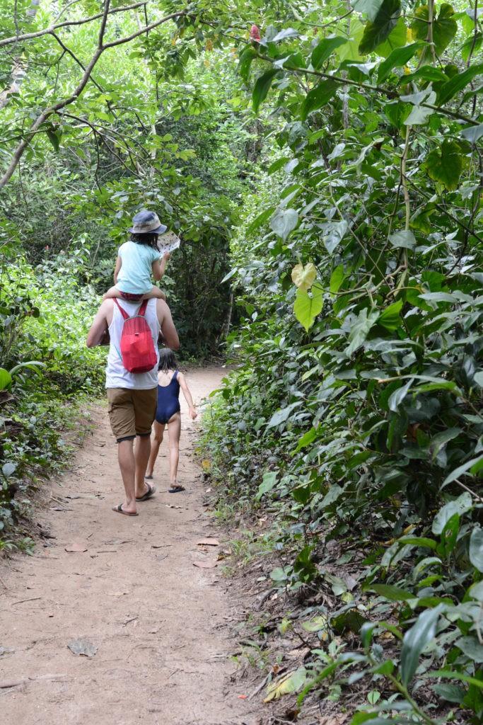 voyage famille à Cahuita
