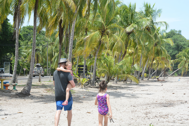famille à playa carillo